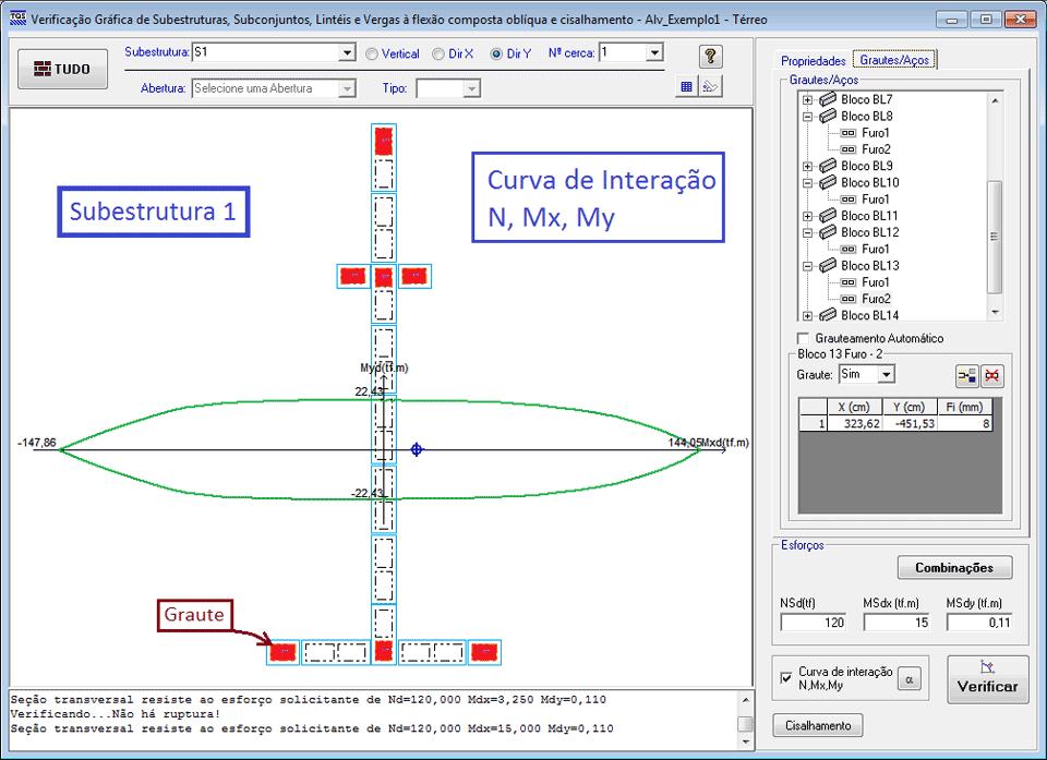 Verificador de Seções do TQS Alvest