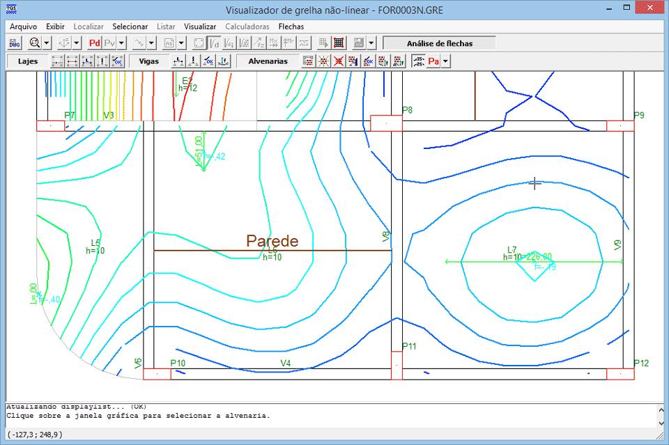 Grelha Não-linear no TQS